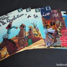 Cómics: LES GRINGOS. LOTE CON LOS 6 TOMOS. VÍCTOR DE LA FUENTE Y JEAN - MICHEL CHARLIER. ALPEN PUBLISHERS. Lote 196150497