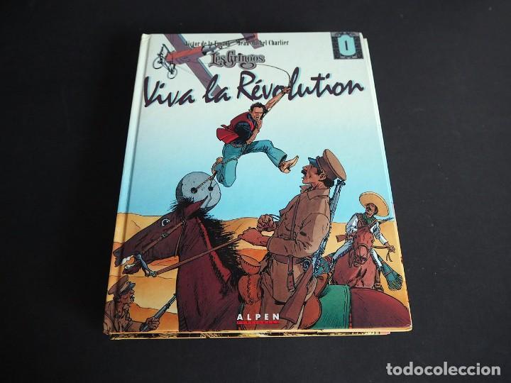 Cómics: LES GRINGOS. LOTE CON LOS 6 TOMOS. Víctor de la Fuente y Jean - Michel Charlier. Alpen publishers - Foto 2 - 196150497
