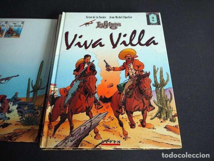 Cómics: LES GRINGOS. LOTE CON LOS 6 TOMOS. Víctor de la Fuente y Jean - Michel Charlier. Alpen publishers - Foto 4 - 196150497