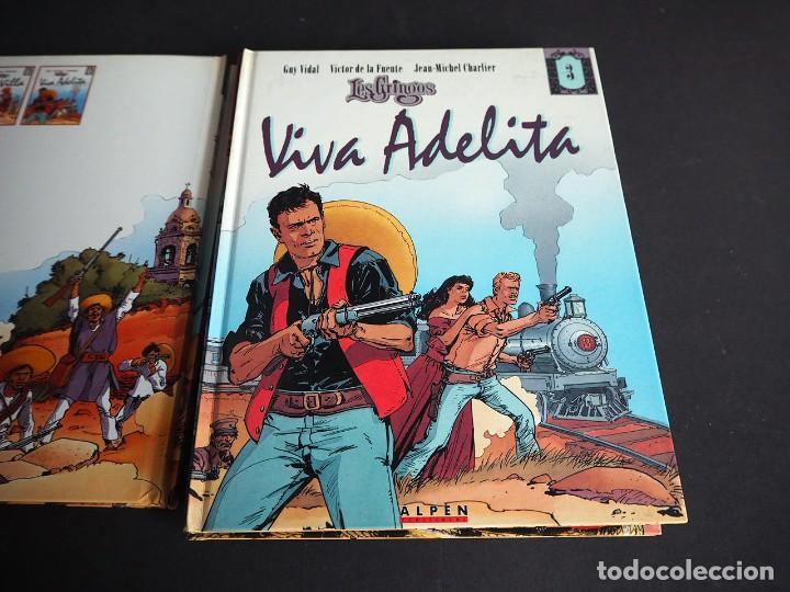 Cómics: LES GRINGOS. LOTE CON LOS 6 TOMOS. Víctor de la Fuente y Jean - Michel Charlier. Alpen publishers - Foto 6 - 196150497