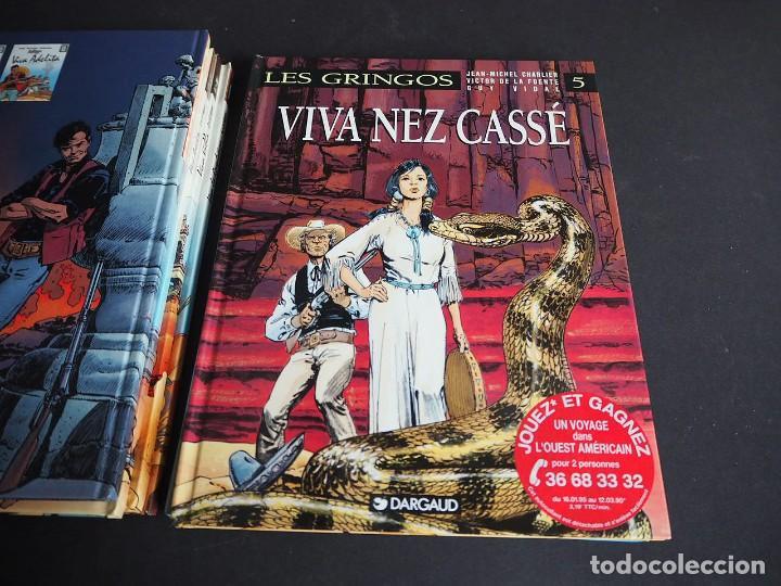 Cómics: LES GRINGOS. LOTE CON LOS 6 TOMOS. Víctor de la Fuente y Jean - Michel Charlier. Alpen publishers - Foto 10 - 196150497