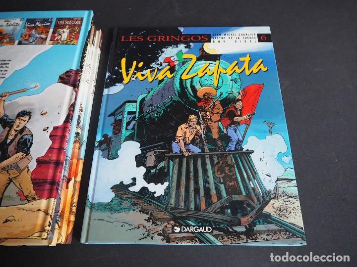 Cómics: LES GRINGOS. LOTE CON LOS 6 TOMOS. Víctor de la Fuente y Jean - Michel Charlier. Alpen publishers - Foto 12 - 196150497