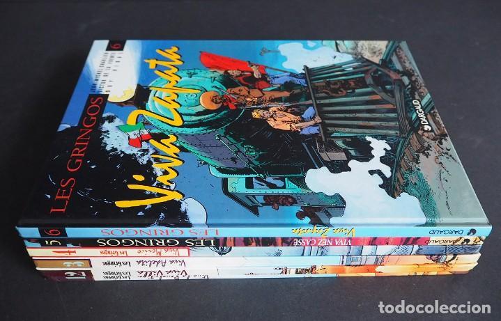Cómics: LES GRINGOS. LOTE CON LOS 6 TOMOS. Víctor de la Fuente y Jean - Michel Charlier. Alpen publishers - Foto 13 - 196150497