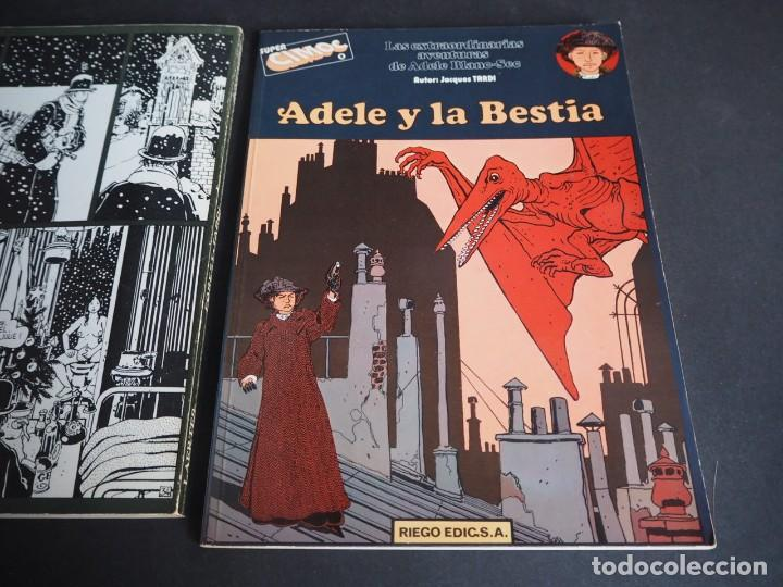 Cómics: JACQUES TARDI. Lote con dos álbumes. Aqui Meme y Adele y la bestia - Foto 4 - 196266685