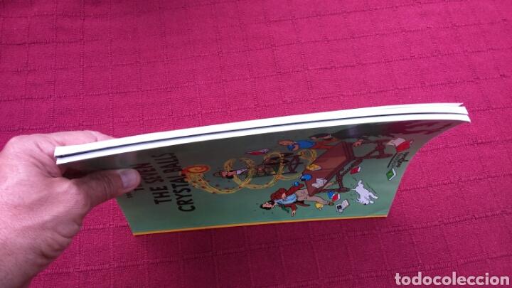 Cómics: TINTIN EN INGLÉS ediciones del prado pasta blanda - Foto 5 - 196360521