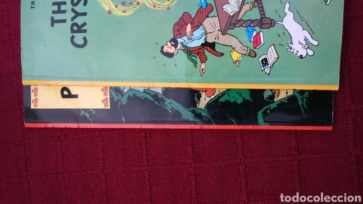 Cómics: TINTIN EN INGLÉS ediciones del prado pasta blanda - Foto 6 - 196360521