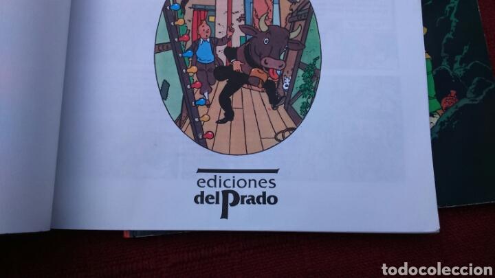 Cómics: TINTIN EN INGLÉS ediciones del prado pasta blanda - Foto 7 - 196360521