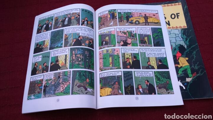 Cómics: TINTIN EN INGLÉS ediciones del prado pasta blanda - Foto 11 - 196360521