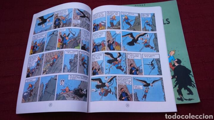 Cómics: TINTIN EN INGLÉS ediciones del prado pasta blanda - Foto 12 - 196360521