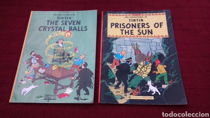 TINTIN EN INGLÉS EDICIONES DEL PRADO PASTA BLANDA (Tebeos y Comics - Comics Lengua Extranjera - Comics Europeos)