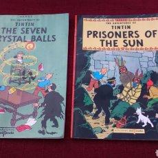 Cómics: TINTIN EN INGLÉS EDICIONES DEL PRADO PASTA BLANDA. Lote 196360521