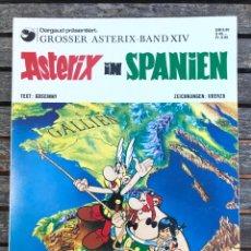 Cómics: ASTERIX IN SPANIEN (EN HISPANIA). AUT. GOSCINNY Y UDERZO. ED. DELTA VERLAG, EN ALEMÁN, AÑO 1989.. Lote 196639001