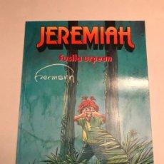 Cómics: JEREMIAH. FUSILA URPEAN. NUMERO UNICO PUBLICADO EN EUSKERA. SARPE. Lote 196670802