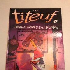 Cómics: TITEUF Nº 8. DIOS, EL SEXO Y LOS TIRANTES. SALVAT 2002. NUEVO. Lote 196672735