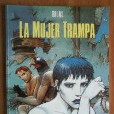 Cómics: LA MUJER TRAMPA - BILAL. Lote 196840235