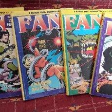 Cómics: FAN Nº 1 AL 4 ¡¡COMPLETA!! - LEONE FROLLO - I KING DEL FUMETTO, 1994. Lote 197030946