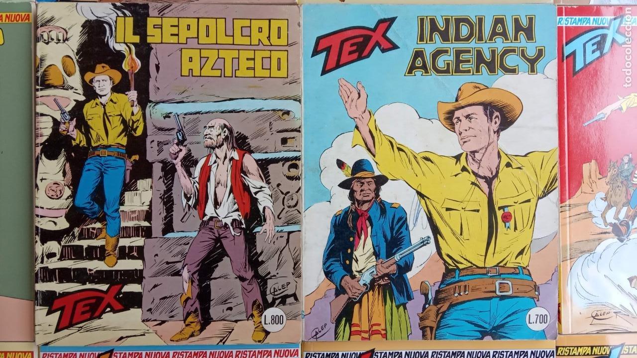 Cómics: TEX 256 AL 280 ITALIANO, 25 CÓMICS MUY NUEVOS O COMO NUEVOS - - Foto 10 - 198251376