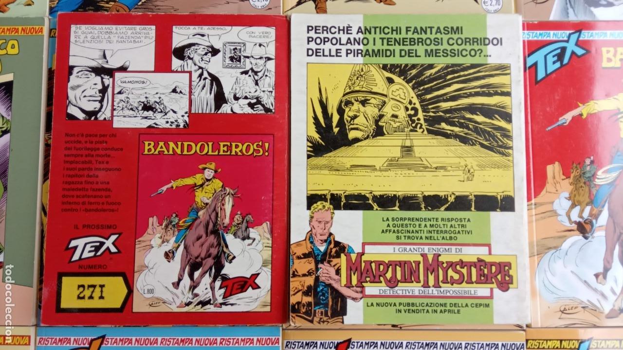 Cómics: TEX 256 AL 280 ITALIANO, 25 CÓMICS MUY NUEVOS O COMO NUEVOS - - Foto 11 - 198251376