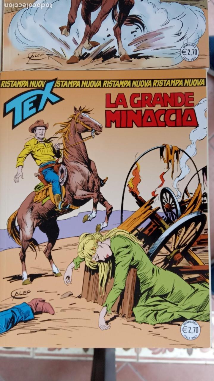 Cómics: TEX 256 AL 280 ITALIANO, 25 CÓMICS MUY NUEVOS O COMO NUEVOS - - Foto 13 - 198251376
