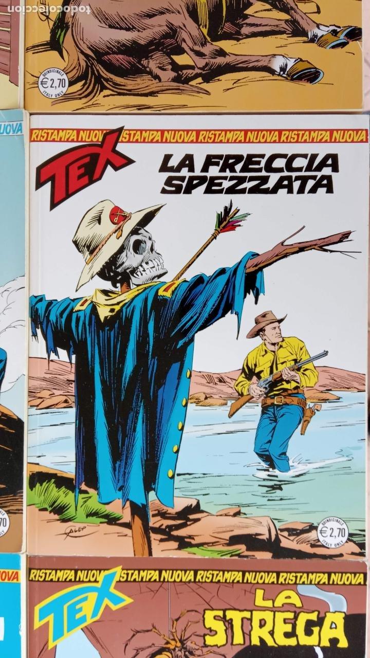 Cómics: TEX 256 AL 280 ITALIANO, 25 CÓMICS MUY NUEVOS O COMO NUEVOS - - Foto 18 - 198251376