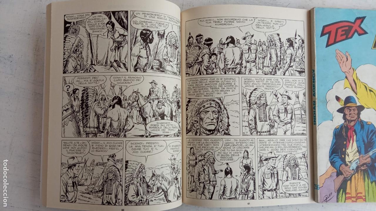 Cómics: TEX 256 AL 280 ITALIANO, 25 CÓMICS MUY NUEVOS O COMO NUEVOS - - Foto 24 - 198251376