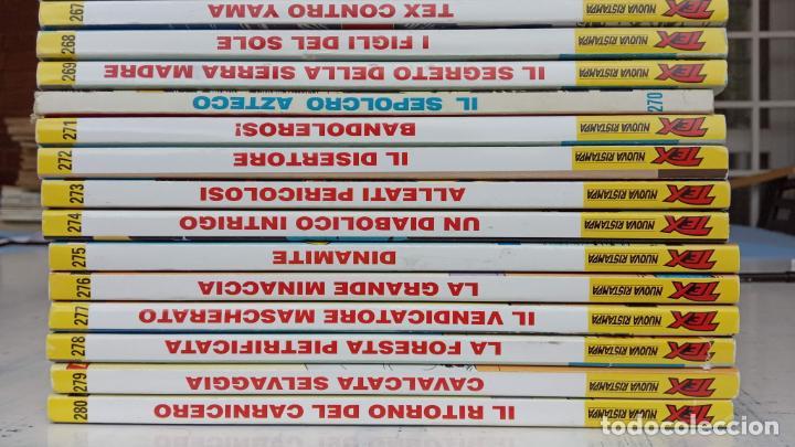 Cómics: TEX 256 AL 280 ITALIANO, 25 CÓMICS MUY NUEVOS O COMO NUEVOS - - Foto 27 - 198251376