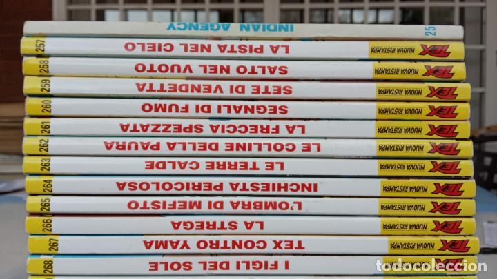 Cómics: TEX 256 AL 280 ITALIANO, 25 CÓMICS MUY NUEVOS O COMO NUEVOS - - Foto 28 - 198251376
