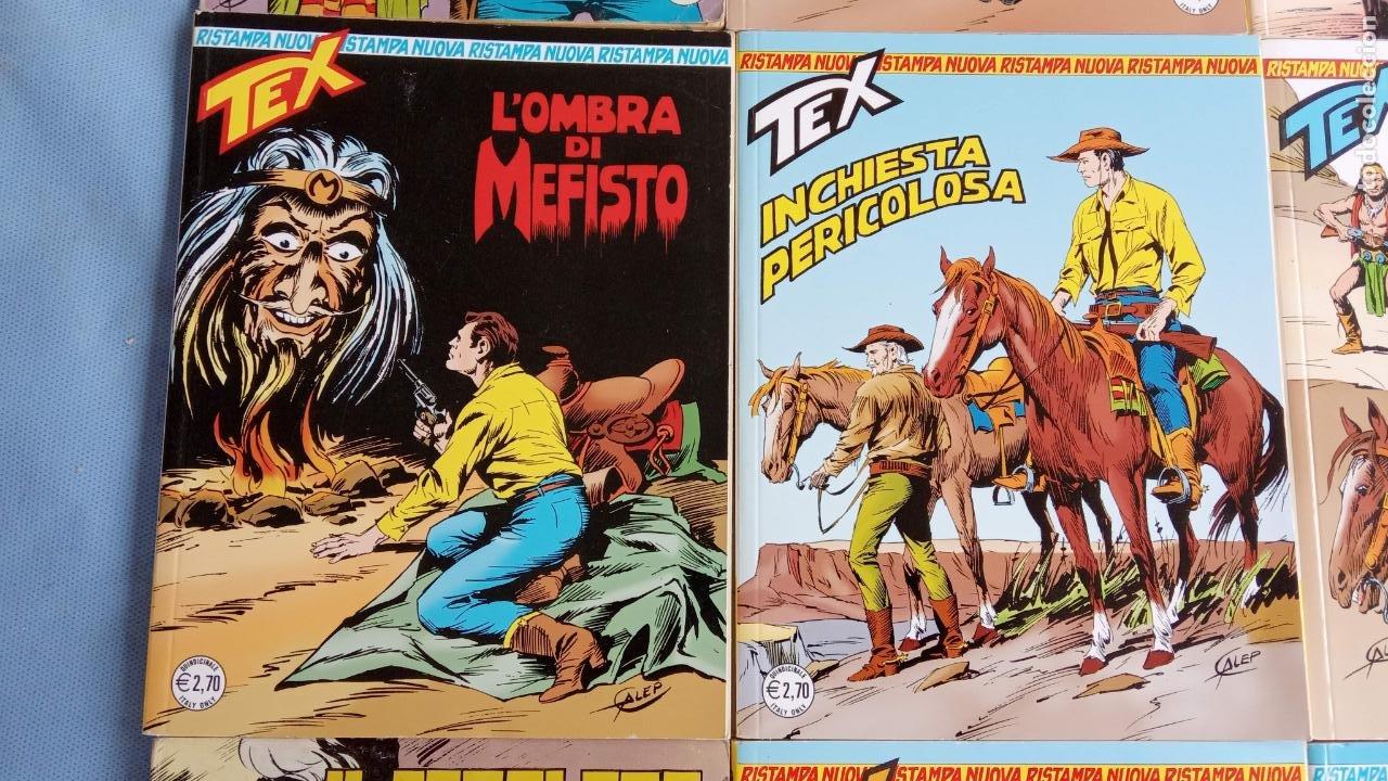 Cómics: TEX 256 AL 280 ITALIANO, 25 CÓMICS MUY NUEVOS O COMO NUEVOS - - Foto 37 - 198251376