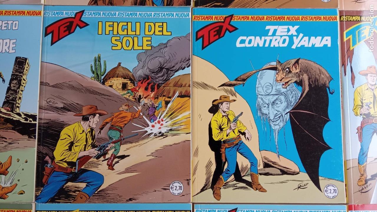Cómics: TEX 256 AL 280 ITALIANO, 25 CÓMICS MUY NUEVOS O COMO NUEVOS - - Foto 39 - 198251376