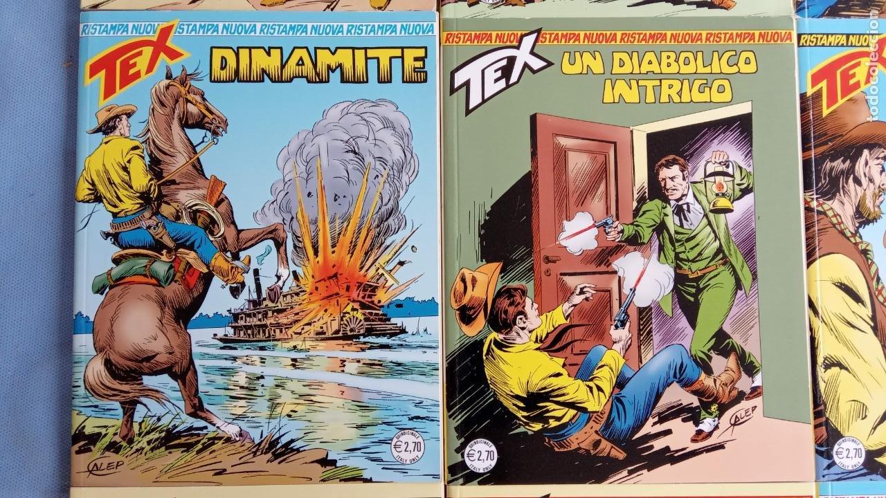 Cómics: TEX 256 AL 280 ITALIANO, 25 CÓMICS MUY NUEVOS O COMO NUEVOS - - Foto 43 - 198251376