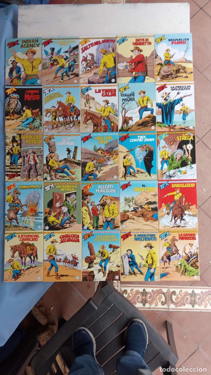 TEX 256 AL 280 ITALIANO, 25 CÓMICS MUY NUEVOS O COMO NUEVOS - (Tebeos y Comics - Comics Lengua Extranjera - Comics Europeos)