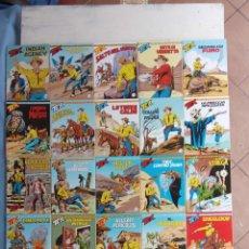 Cómics: TEX 256 AL 280 ITALIANO, 25 CÓMICS MUY NUEVOS O COMO NUEVOS - . Lote 198251376