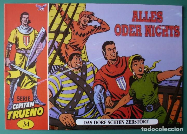 EL CAPITÁN TRUENO Nº 34 EN ALEMÁN (Tebeos y Comics - Comics Lengua Extranjera - Comics Europeos)