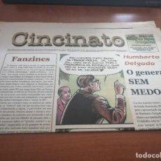 Cómics: CINCINATO 28. SUPLEMENTO PERIÓDICO EN PORTUGUÉS. BUEN ESTADO. DOBLADO. DIFICIL. Lote 198693390