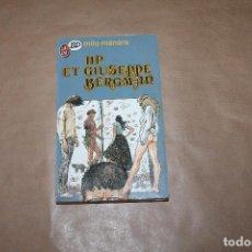 Cómics: HP ET GIUSEPPE BERGMAN, MILO MANRA, EN FRANCÉS. Lote 198843610