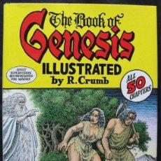 Cómics: THE BOOK OF GENESIS - ILUSTRADO POR ROBERT CRUMB - EN INGLES -. Lote 198850390
