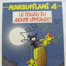 Cómics: MARSUPILAMI Nº4 - FRANCES - 1989. Lote 199036885