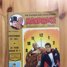 Cómics: MANDRAKE Nº 405 CAUCHEMAR ET T.N.T. LA TOUR RADAR Nº 1 - EN FRANCES. Lote 199043673