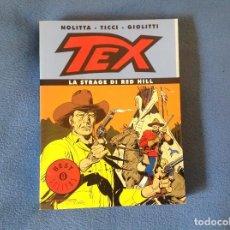Cómics: TEX ITALIANO LA MATANZA DE RED HILL. Lote 199994576