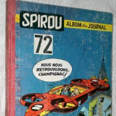 Cómics: SPIROU. ALBUM DU JOURNAL Nº 72 (1959). Lote 200603746