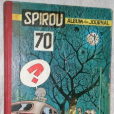 Cómics: SPIROU. ALBUM DU JOURNAL Nº 70 (1959). Lote 200603850