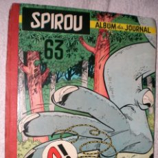 Cómics: SPIROU. ALBUM DU JOURNAL Nº 63 (1957). Lote 200604051