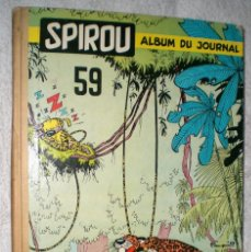 Cómics: SPIROU. ALBUM DU JOURNAL Nº 59 (1956). Lote 200604623