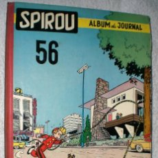 Cómics: SPIROU. ALBUM DU JOURNAL Nº 56 (1956). Lote 200604765
