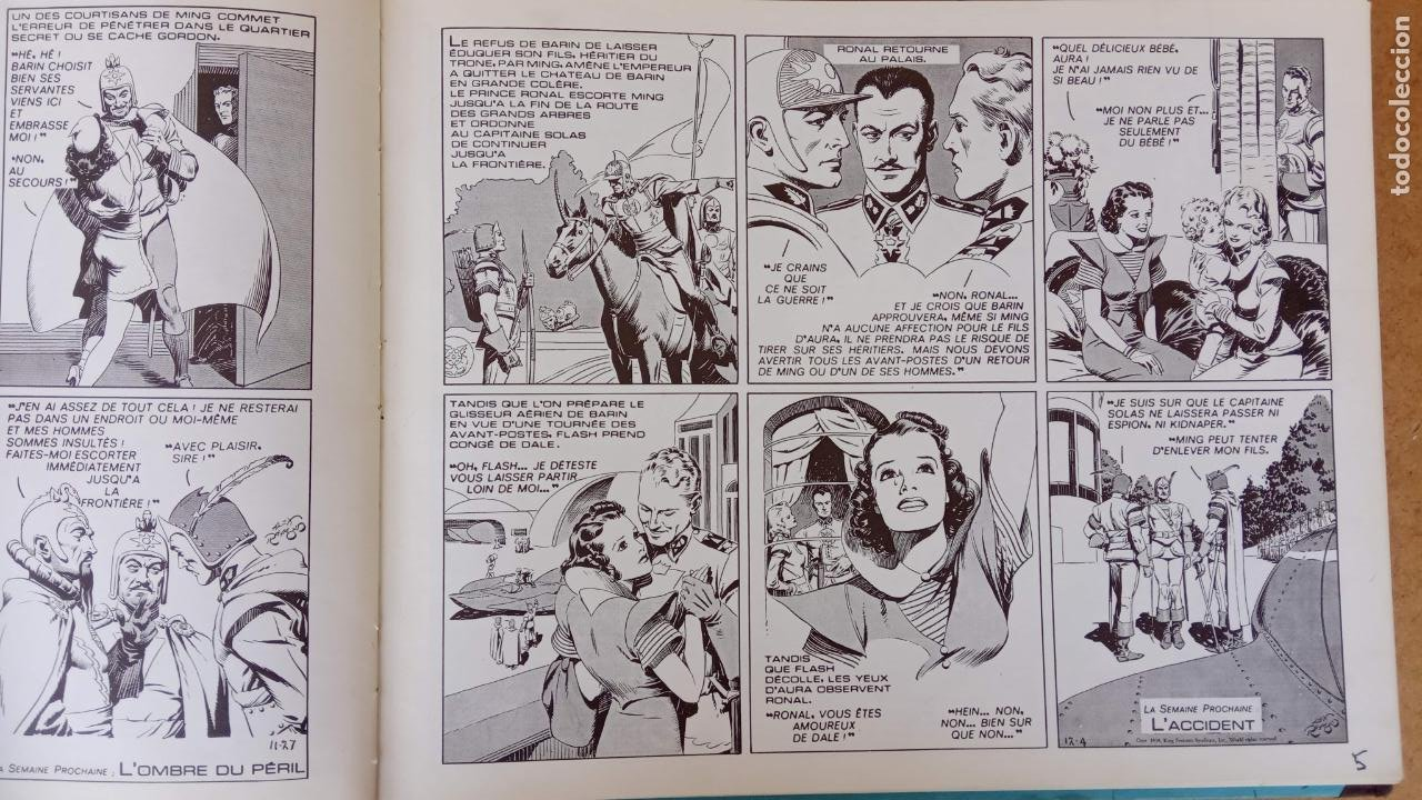 Cómics: FLASH GORDON POR ALEX RAYMOND - AÑO 1973 - 158 PGS. - 35 X 28,5 CMS. BANDE DESSINÉE - Foto 63 - 202706968