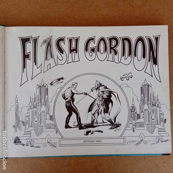 FLASH GORDON POR ALEX RAYMOND - AÑO 1973 - 158 PGS. - 35 X 28,5 CMS. BANDE DESSINÉE (Tebeos y Comics - Comics Lengua Extranjera - Comics Europeos)