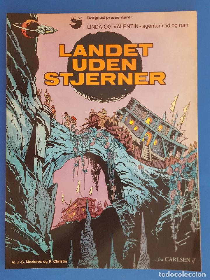 COMIC / LINDA OG VALENTIN - AGENTER I TID OG RUM / LANDET UDEN STJERNER / EDIT. DARGAUD 1972 BELGICA (Tebeos y Comics - Comics Lengua Extranjera - Comics Europeos)