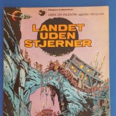 Cómics: COMIC / LINDA OG VALENTIN - AGENTER I TID OG RUM / LANDET UDEN STJERNER / EDIT. DARGAUD 1972 BELGICA. Lote 203541376