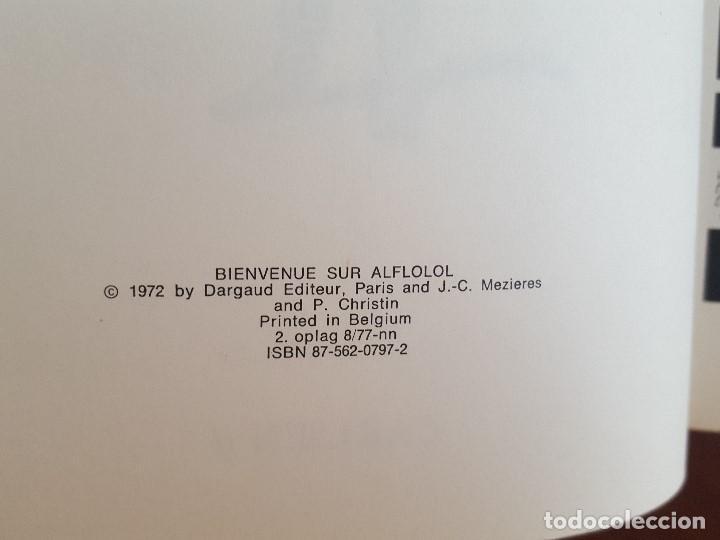 Cómics: COMIC / LINDA OG VALENTIN - AGENTER I TID OG RUM / VELKOMEN TIL ALFLOLOL/ EDIT. DARGAUD 1972 BELGICA - Foto 3 - 203541603