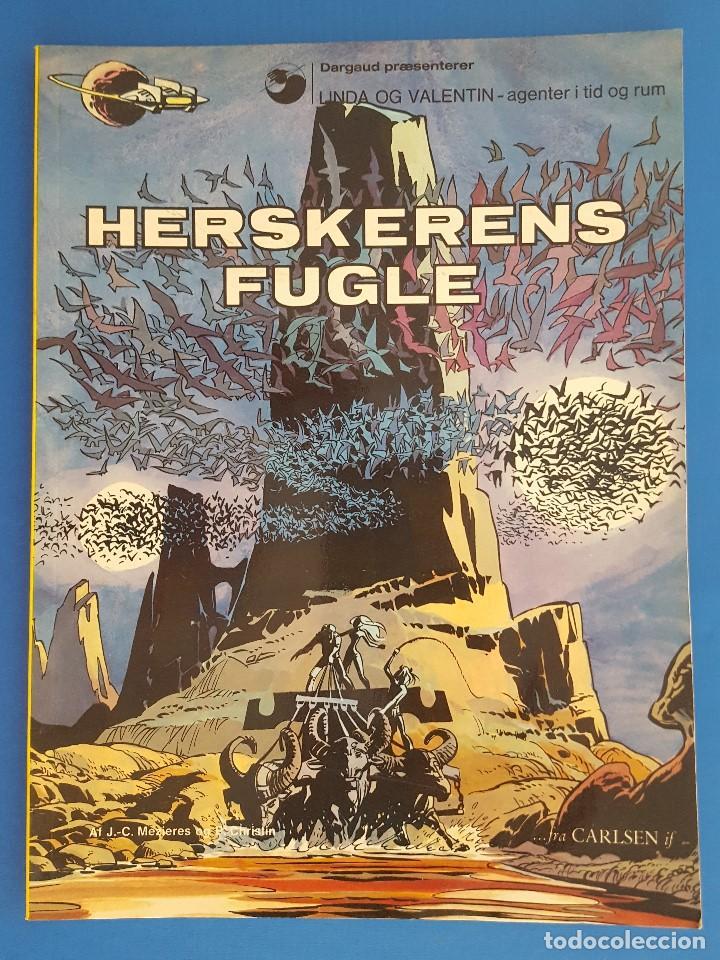 COMIC / LINDA OG VALENTIN - AGENTER I TID OG RUM / HERSKERENS FUGLE / EDIT. DARGAUD 1973 BELGICA (Tebeos y Comics - Comics Lengua Extranjera - Comics Europeos)
